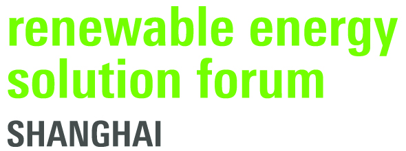 Renewable Energy Solution Forum Shanghai